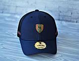 Мужская кепка синяя брендовая с логотипом (реплика), фото 4