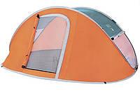 Палатка туристическая трехместная Bestway 68005