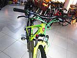 """Гірський велосипед Benetti Vento DD 26"""" вилка LOCK жовто-зелений (ХАРДТЕЙЛ), фото 2"""