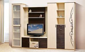 """Меблі в вітальню  """"Сакура"""" 3.0м  від Світ меблів."""
