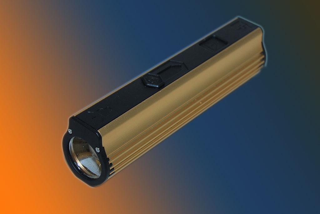 Многофункциональный фонарик 818 4в1