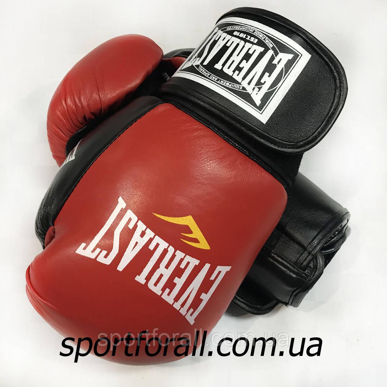 Боксерские перчатки EVERLAST (КОЖА) 10ун.