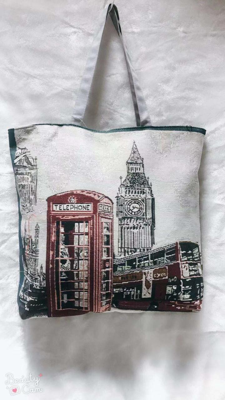 Женская тканевая сумка