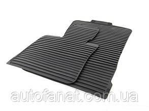 Комплект оригинальных ковриков салона для BMW X5 (E70,E70LCI)  резиновые (51472231953 / 51472231955)