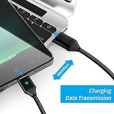 Mantis магнитный кабель Micro-USB. Золотистый. Лучшее качество!, фото 3