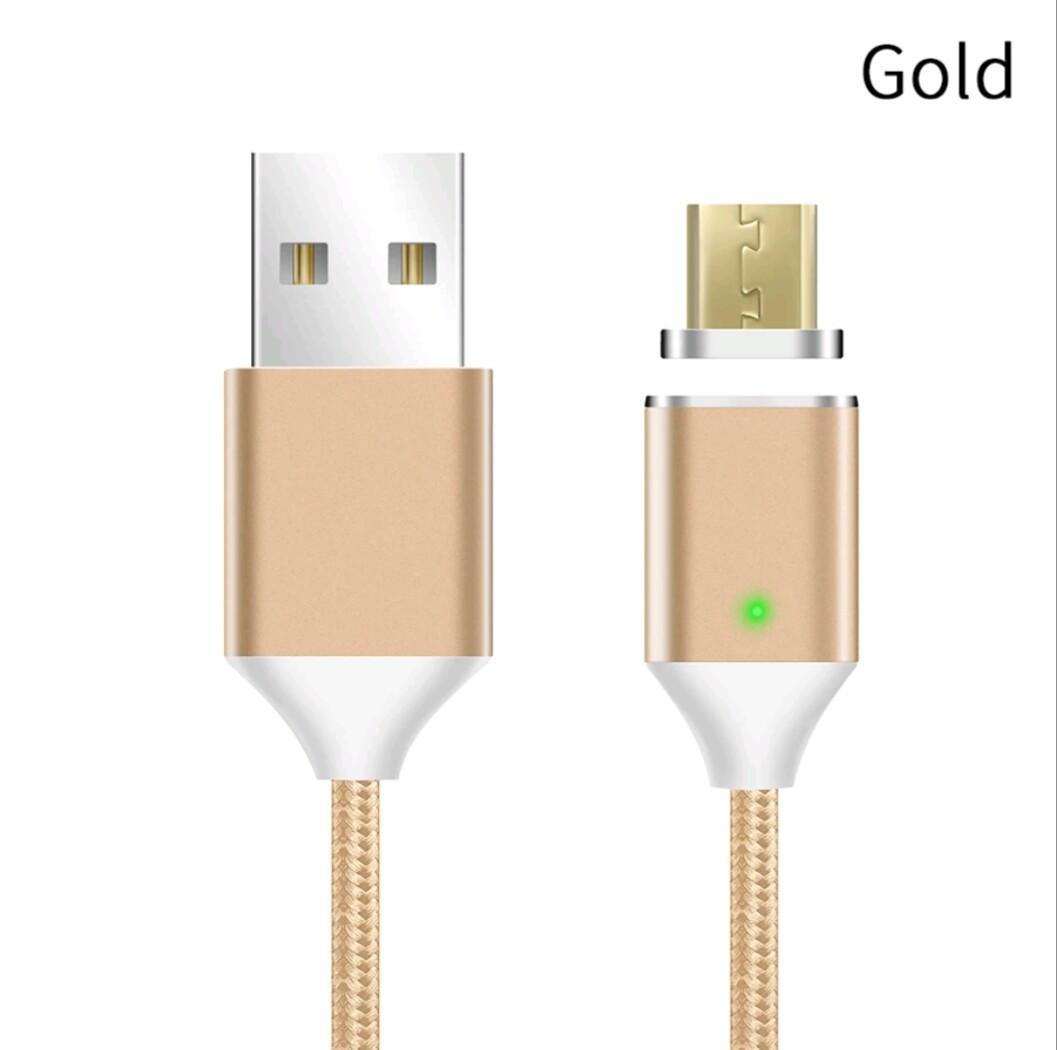 Mantis магнитный кабель Micro-USB. Золотистый. Лучшее качество!