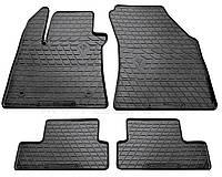 Резиновые коврики RENAULT MEGANE с 2015- , цвет: черный, Stingray