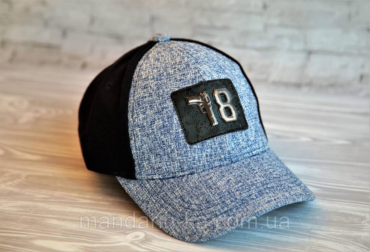 Стильная мужская кепка цвета в ассортименте (реплика)