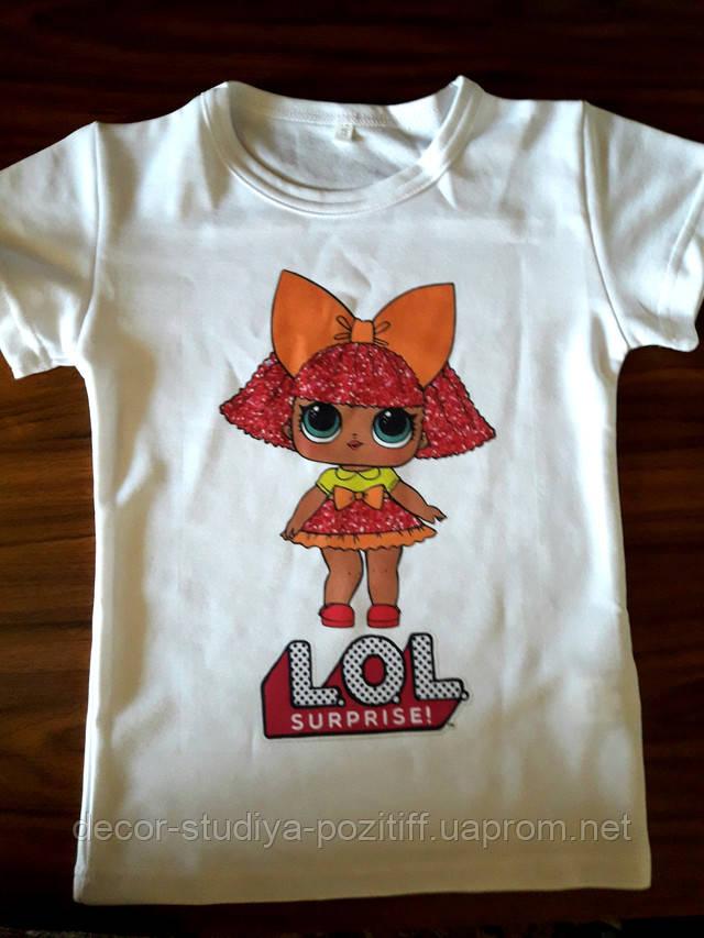 печать на детских футболках