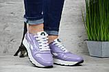 Женские кожаные кроссовки Reebok (Реплика)►Размеры [36], фото 3