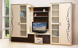 "Стенка в гостиную ""Сакура"" 3.2м от Мир мебели."