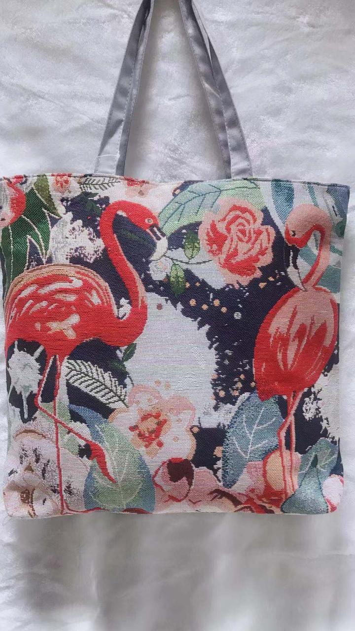 954034f2ccb8 Пляжная сумка текстильная Фламинго, цена 190 грн., купить в Одессе ...