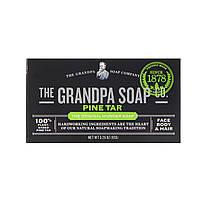 Grandpa's, Мыло для лица, тела и волос, сосновая смола, 92 г (3,25 унции)