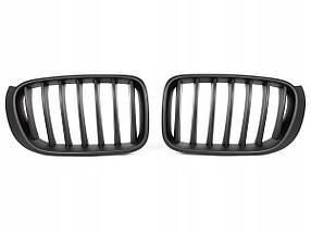 Решетка радиатора ноздри BMW X3 F25 X4 F26