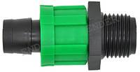 """Фитинг для капельной ленты, диаметр 16 мм х 3/4"""" «ENDER» (капельный полив)"""