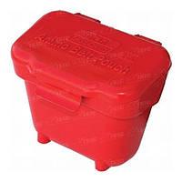 Подсумок Пластмассовый MTM Ammo Belt Pouch для Патронов кал. 22 Lr- 22 Wmr и 17 Hmr. Цвет – красный. (Abp)
