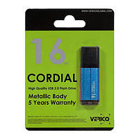 Флеш память 16GB USB2.0 Verico Cordial SkyBlue