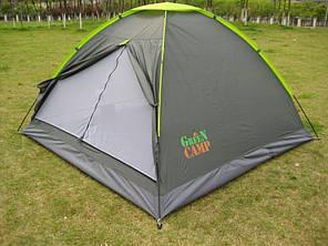У Наявності! Тримісний намет GreenCamp 1012, фото 2
