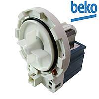 Насос сливной универсальный GRE 34W 8-защелок фишка впереди для стиральных машин Beko