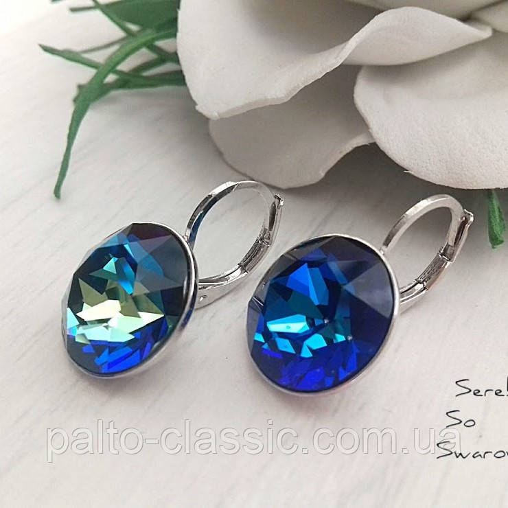 7ec078970a71 Шикарные бриллианты Сваровски в цвете Bermuda Blue - Пальто Классик и  Serebro so Swarovski в Виннице