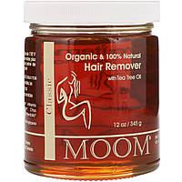 Средство для удаления волос с Маслом Чайного Дерева Moom, 345 г