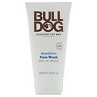 Bulldog Skincare For Men, Средство для умывания лица с чувствительной кожей, 150 мл