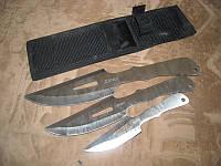 """Ножи метательные """"Дятел"""". Набор из трёх ножей. Аналог ножей для метания «City Brothrer»."""