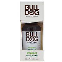 Bulldog Skincare For Men, Оригинальное масло для бритья, 30 мл