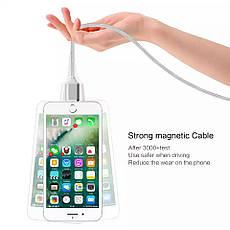 Mantis магнитный кабель Lightning для iPhone. Золотистый. Лучшее качество!, фото 3
