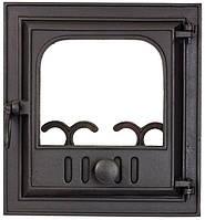 Печные дверцы DELTA Novella 360х390 Дверца чугунная для печи и камина