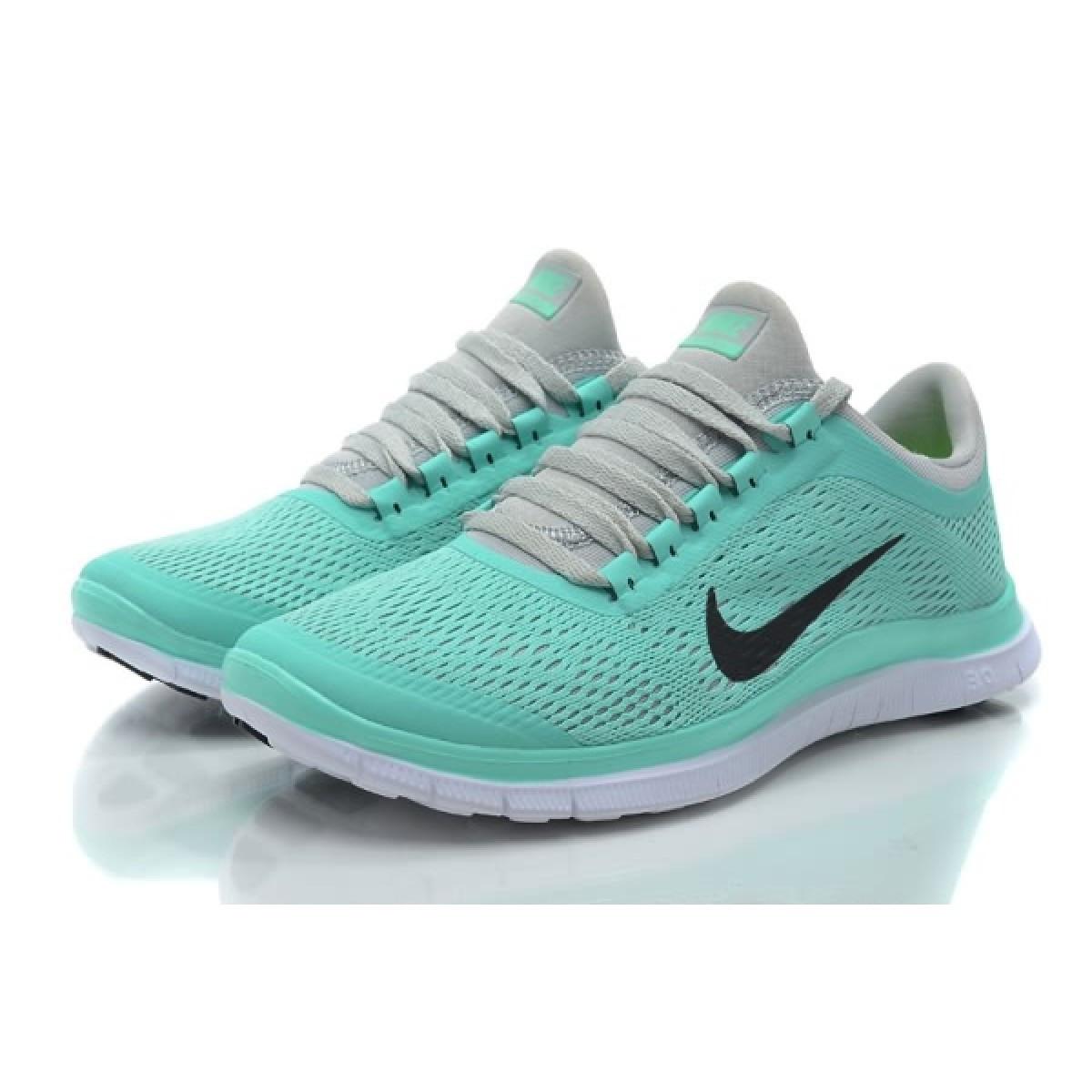 Кроссовки женские Nike Free Run 3.0 V5 бирюзовые