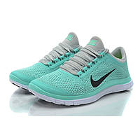 Кроссовки женские Nike Free Run 3.0 V5 бирюзовые, фото 1