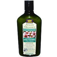 Avalon Organics, Кондиционер, с чайным деревом для кожи головы, 11 унций (312 г)