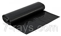 Мешки для мусора черные 160л 10шт/рул Супер Люкс