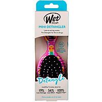 Wet Brush, Распутывающая мини-расческа, Happy Hair, ананас, 1 расческа
