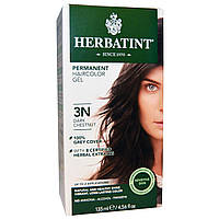 Herbatint, Перманентная краска для волос, 3N, темный каштан, 4,56 жидкой унции (135 мл)