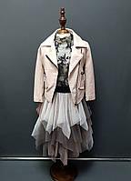 Куртка косуха для девочки
