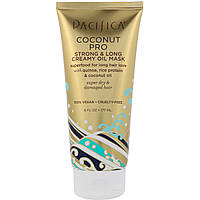 Pacifica, Кокосовая кремово-масляная маска для сильных и длинных волос, 6 ж. унц. (177 мл)
