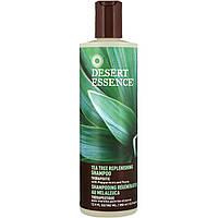 Desert Essence, Восстанавливающий шампунь с экстрактом чайного дерева, 2.9 жидких унций (382 мл)
