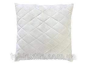 Подушка силиконовая белая 70х70см.