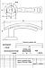 Ручка раздельная Apecs H-0598-Z-GM/G New Premier, фото 2