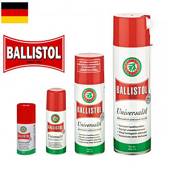 Масла и химические средства Ballistol