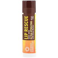 Desert Essence, Бальзам для губ, Супер увлажняющий с маслом ши, 0,15 унции (4,25 г)