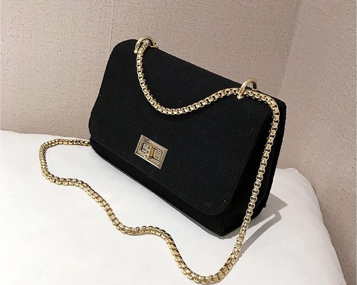 263815297cb3 Женская сумка на цепочке через плечо льняная Ivy - Strelecia -  интернет-магазин женских сумок