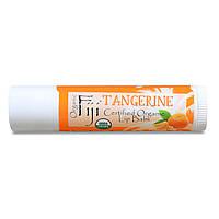 Organic Fiji, Сертифицированный органический бальзам для губ, с мандарином, 0,15 унции (4,25 г)