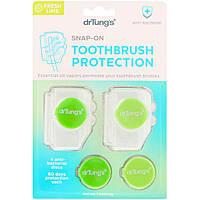 Дезинфицирующее средство и антибактериальный протектор для зубной щетки Dr.Tung's, свежий лайм, 1 уп. (2 шт.)