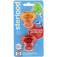 Санитайзер, насадочный колпачок для зубной щетки Bonfit America Inc., 2 в упаковке