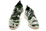 Женские кроссовки Nike Roshe Run Print green, фото 1