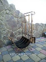 Набор для камина кованый №3, фото 2