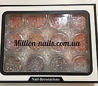 Набор декора для ногтей,микс мелкие конфети, фото 1